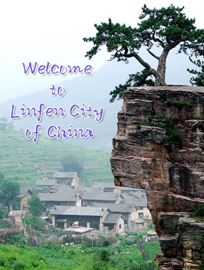 Picture: Welcome to LinFem city of China